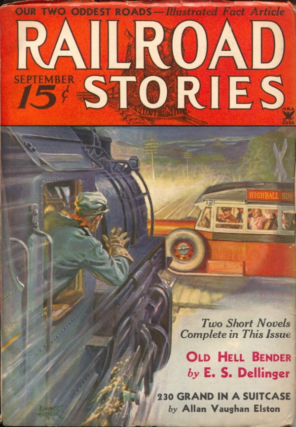 Railroad Stories September 1934