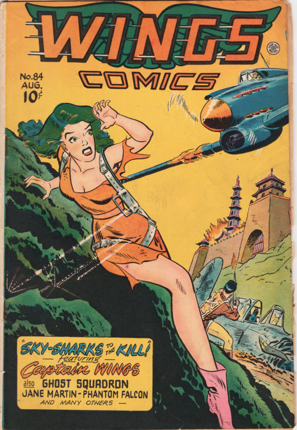 Wings Comics #84 Aug 1947