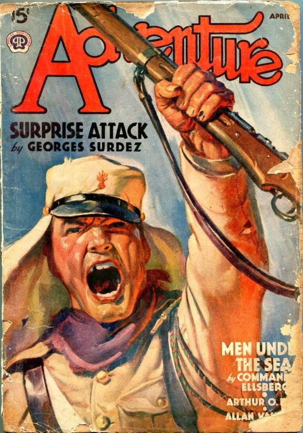 Adventure April 1939