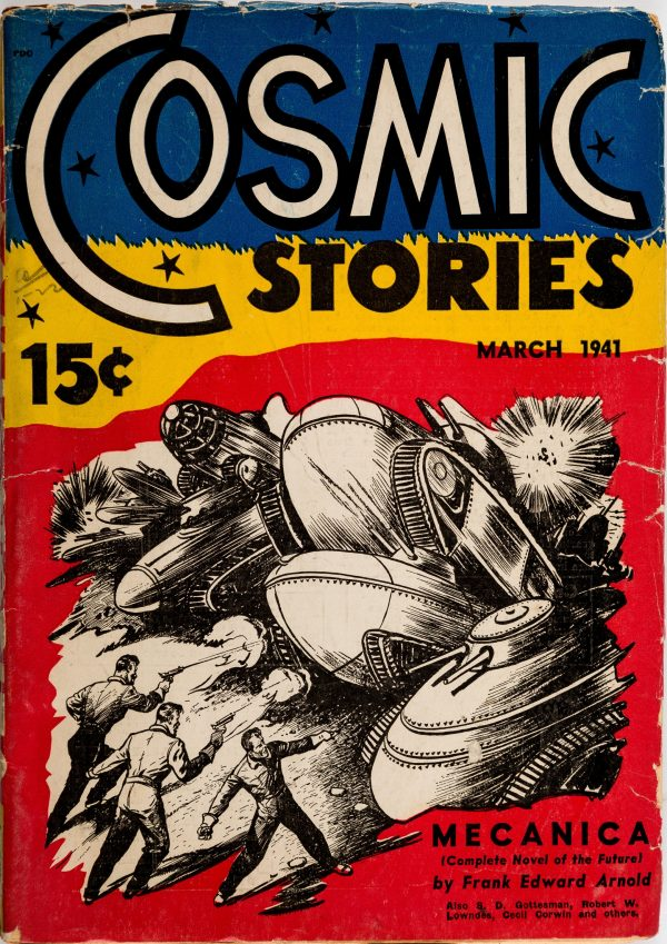 Cosmic Science-Fiction - March 1941