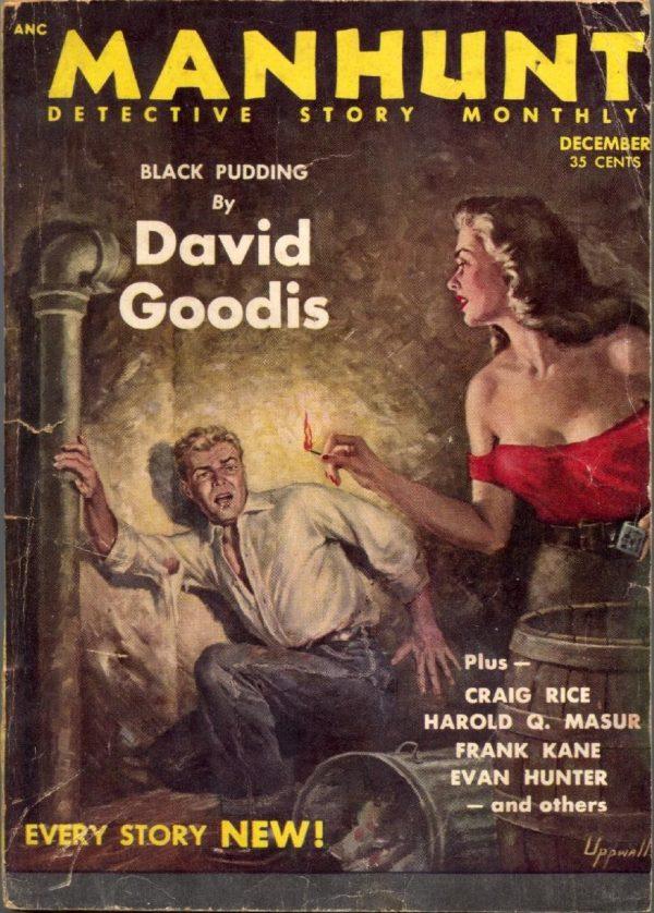 Manhunt Magazine December 1953