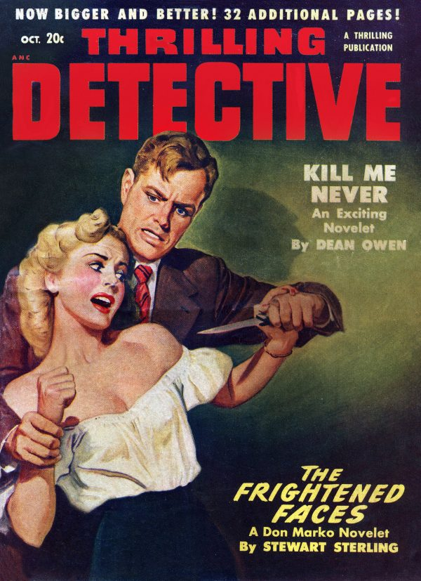 Thrilling Detective 1950 October
