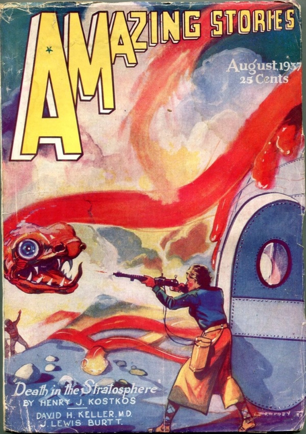 Amazing Stories August 1937