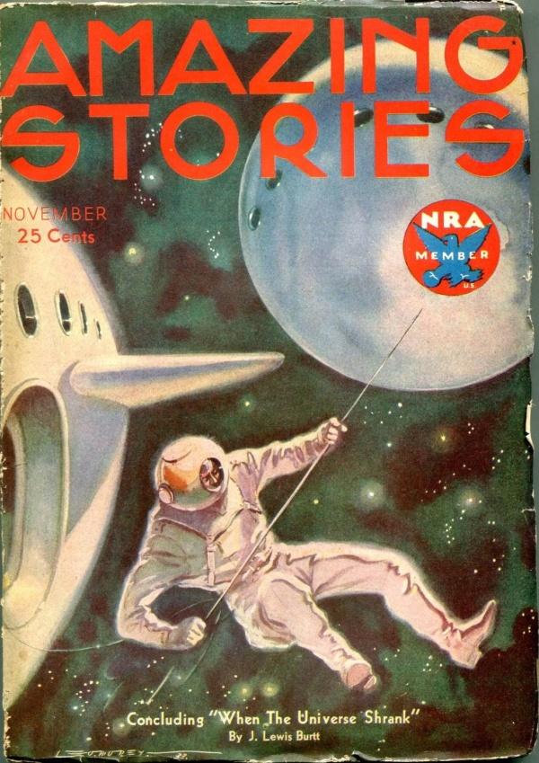 Amazing Stories November 1933