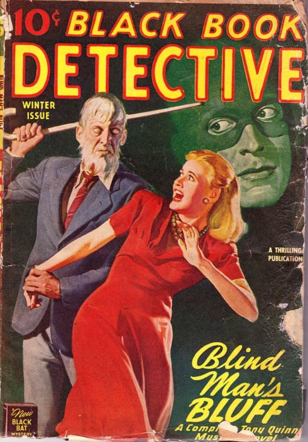 Black Book Detective -Winter 1946