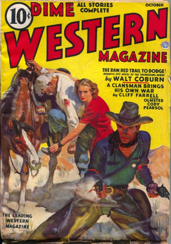 Dime Western October 1937