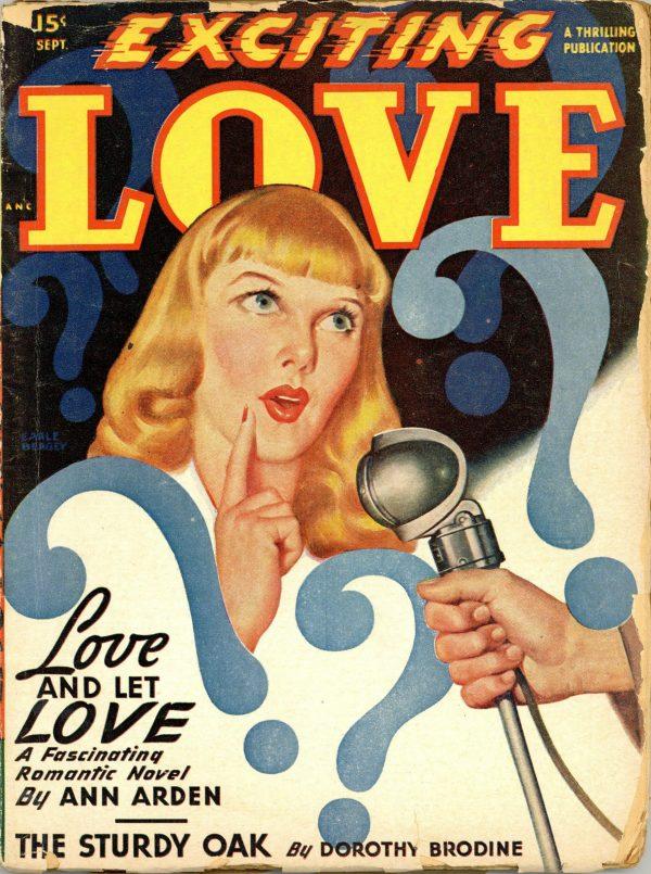Exciting Love Magazine September 1948