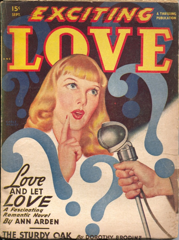 Exciting Love September 1948