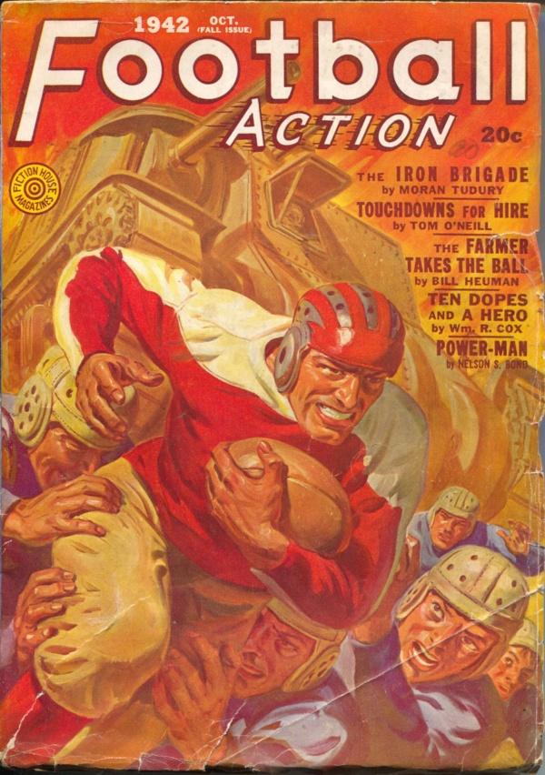 Football Action October 1942