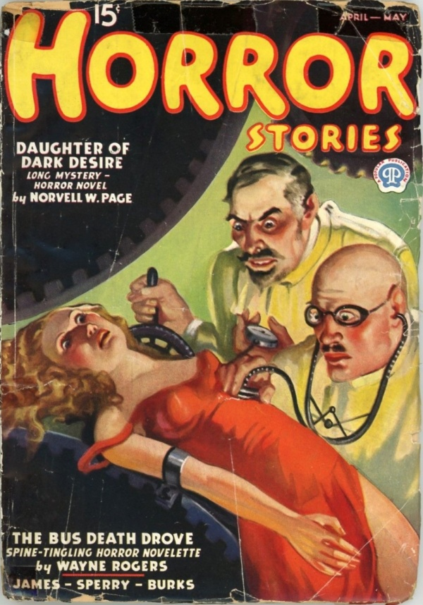 Horror Stories, April-May 1937