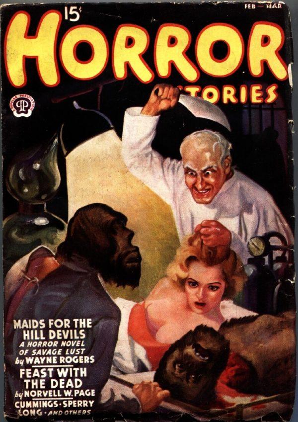 Horror Stories February 1938