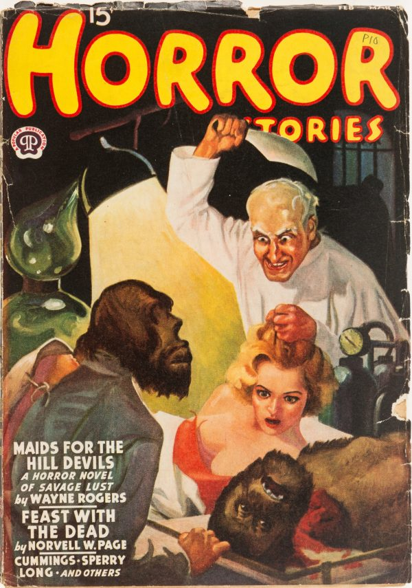 Horror Stories - February March 1938