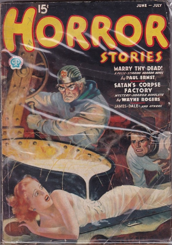 Horror Stories June-July 1937