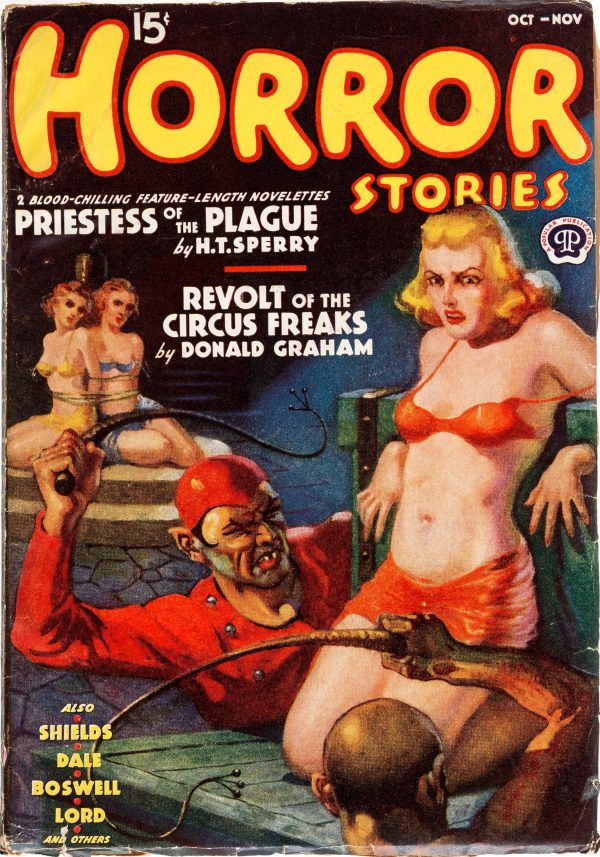 Horror Stories - October 1938
