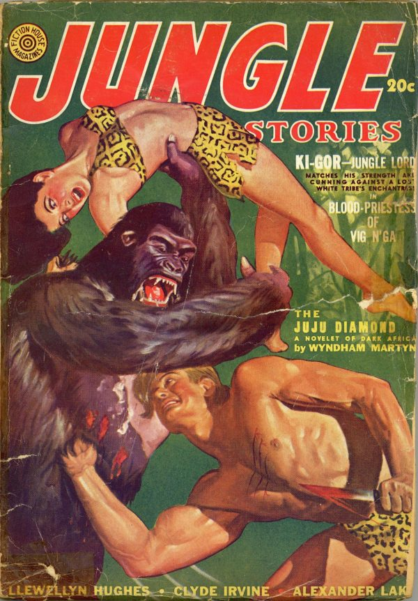 Jungle Stories June 1942