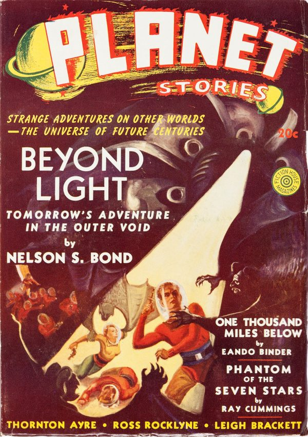 Planet Stories Magazine Winter 1940