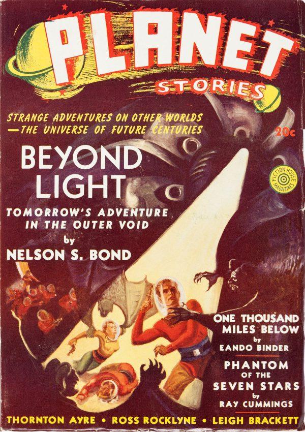 Planet Stories Magazine Winter 1940