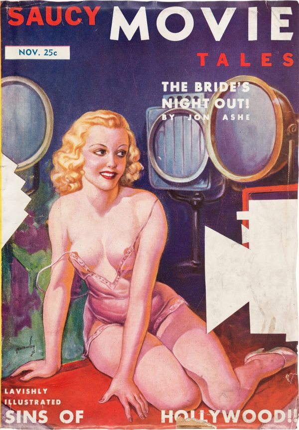 Saucy Movie Tales magazine - November 1937