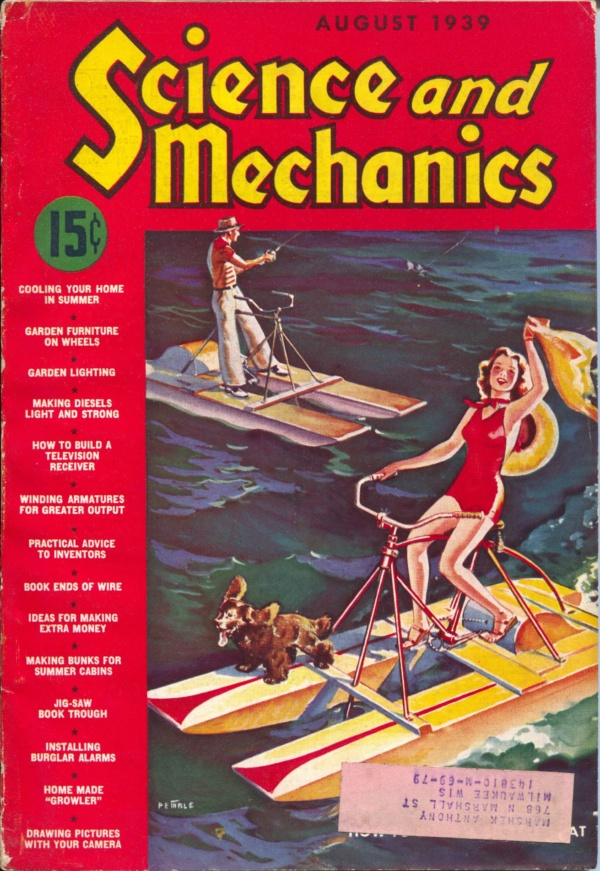 Science And Mechanics August 1939