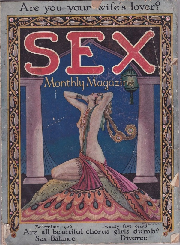 Sex Monthly Magazine December 1926