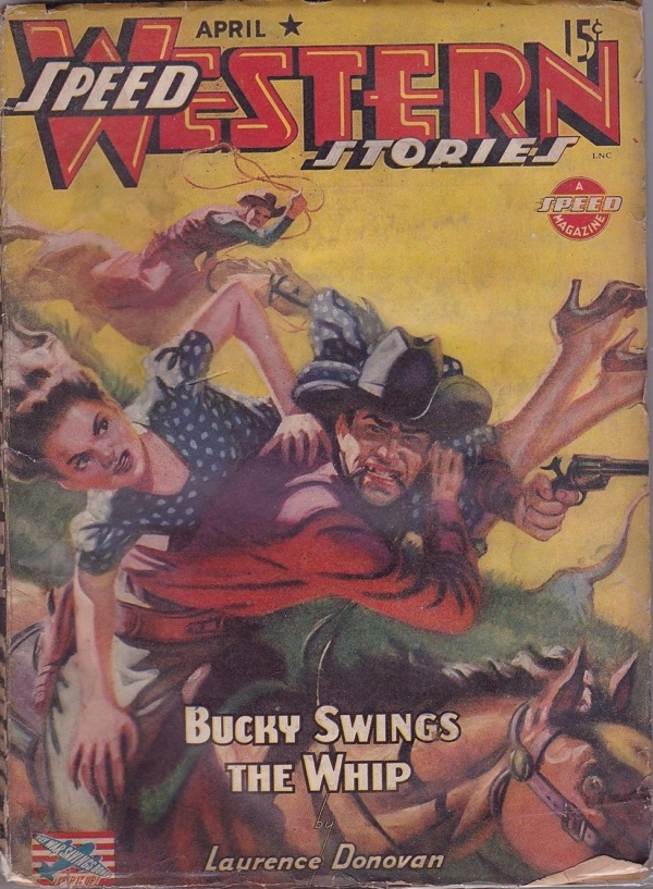 Speed Western Stories April 1943