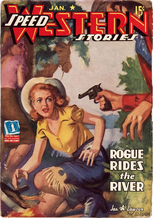 Speed Western Stories - January 1943