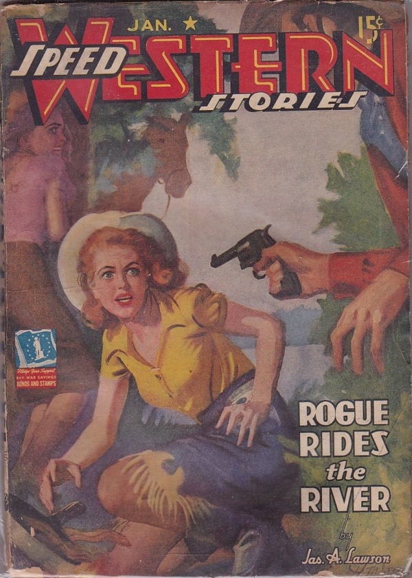 Speed Western Stories January 1943