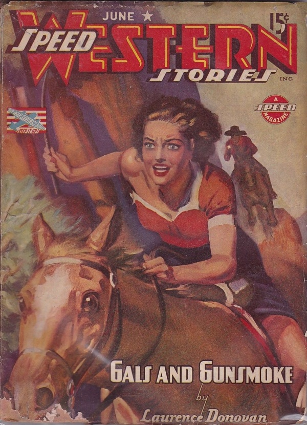 Speed Western Stories June 1943