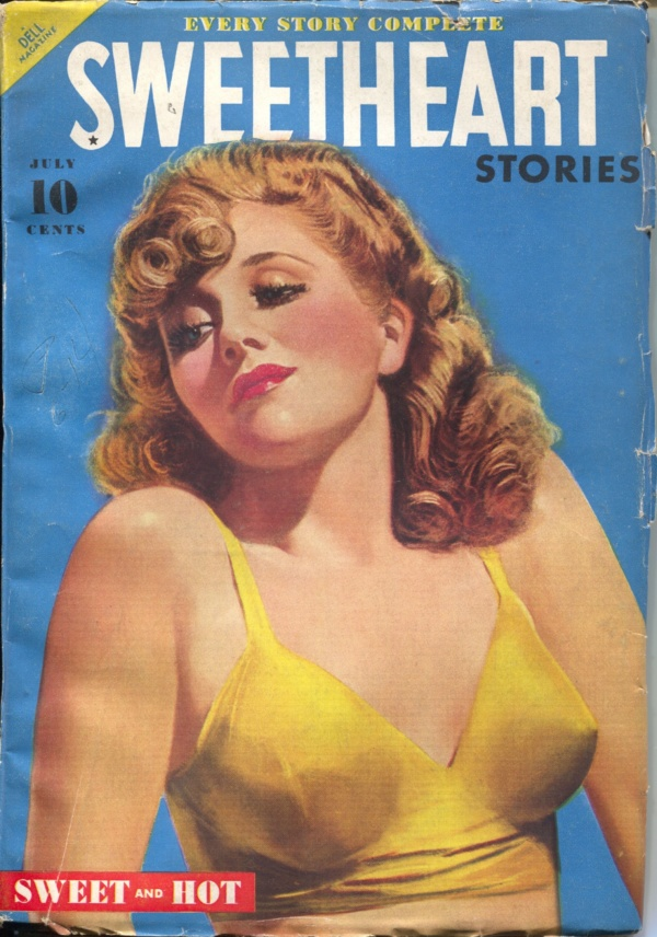 Sweetheart Stories July 1940
