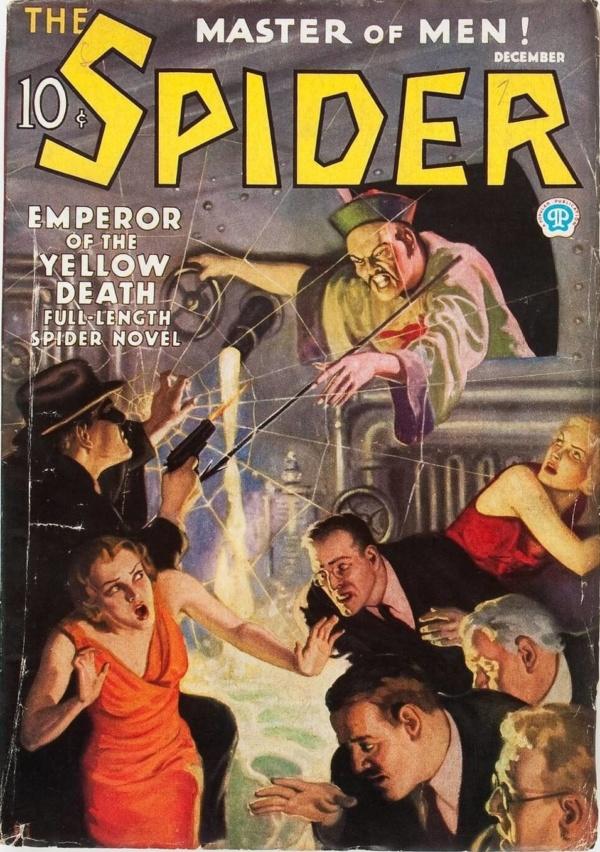 The Spider - December 1935