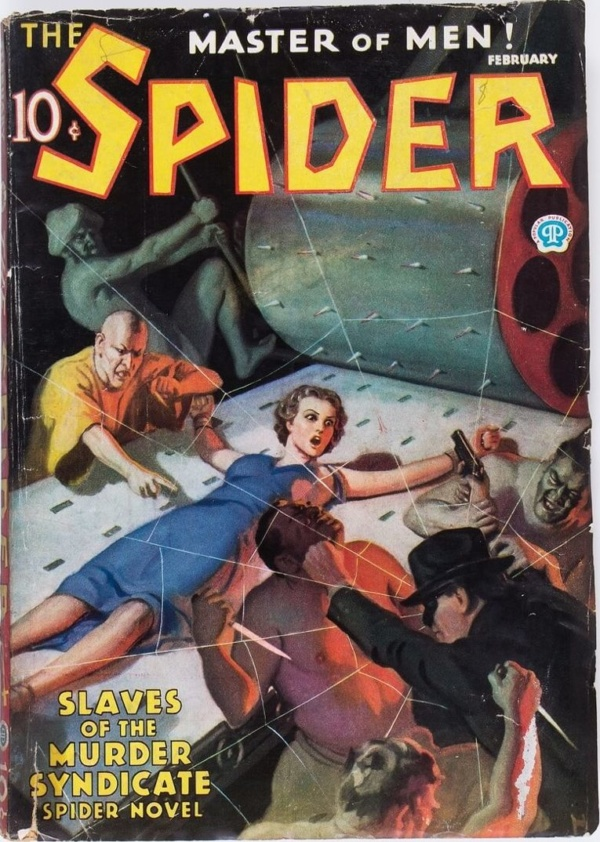 The Spider - February 1936
