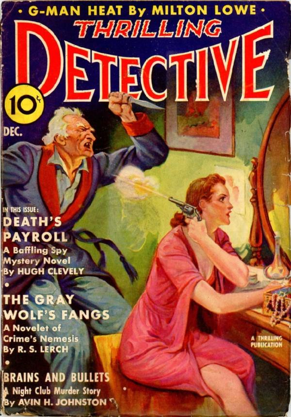 Thrilling Detective, December 1938
