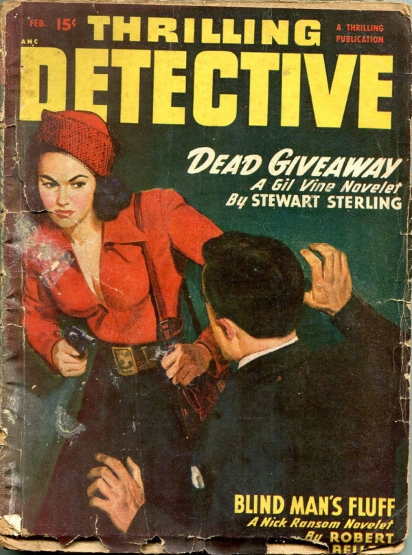 Thrilling Detective February 1950