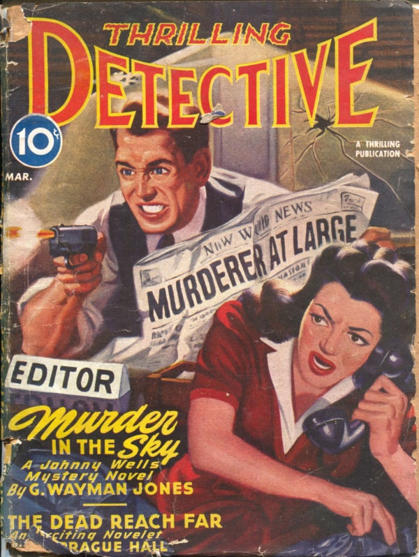 Thrilling Detective March 1945