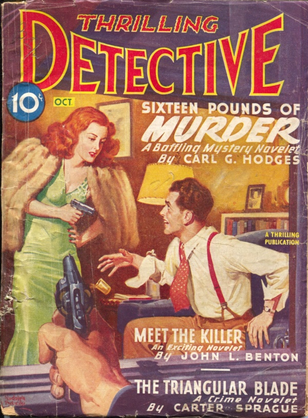 Thrilling Detective October 1946