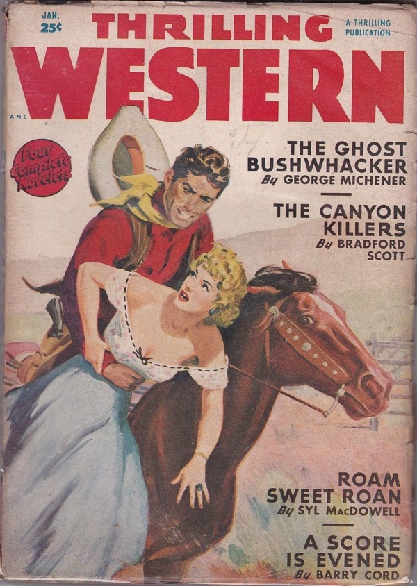 Thrilling Western January 1950