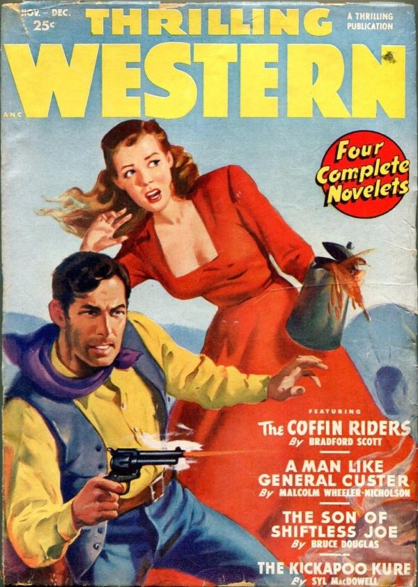 Thrilling Western November 1949