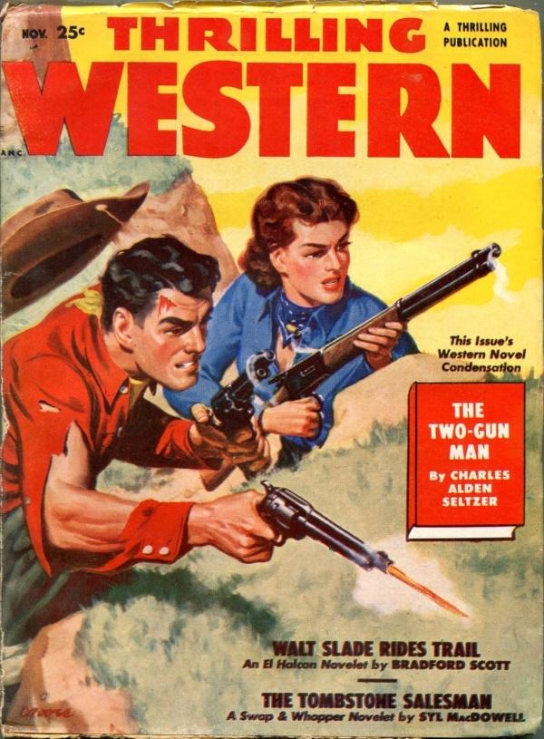 Thrilling Western November 1950