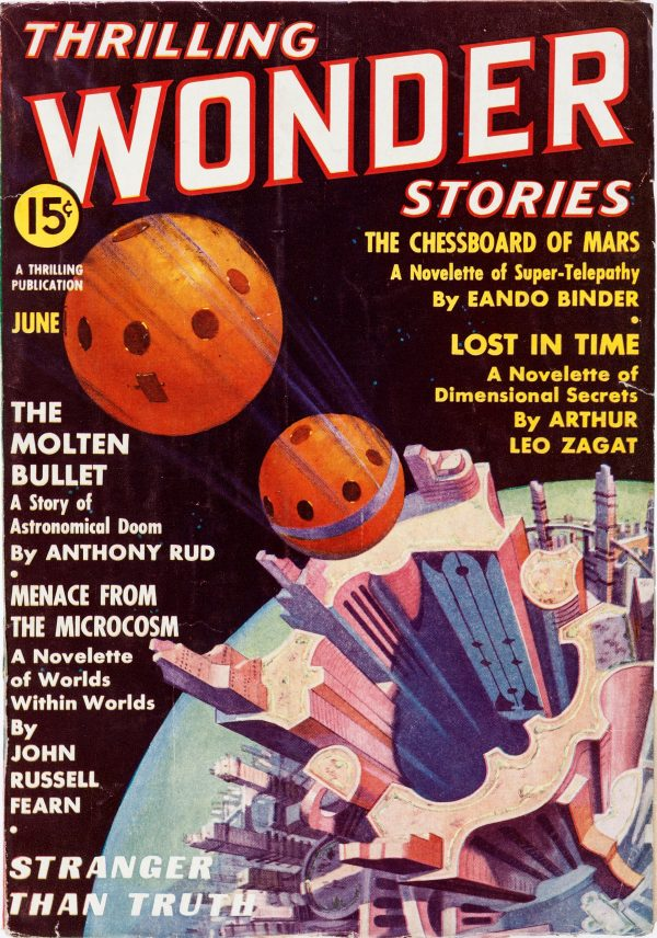 Thrilling Wonder Stories - June 1937