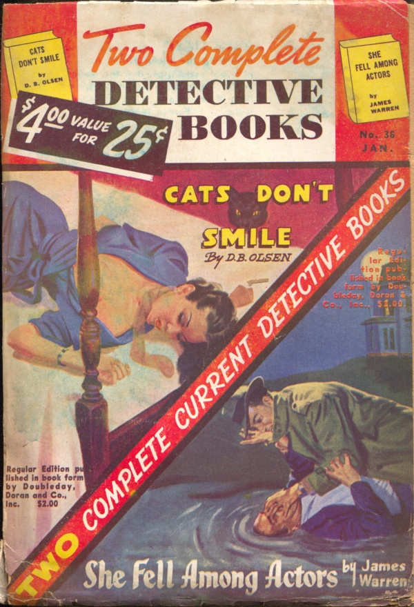 Two Complete Detective Books January 1946