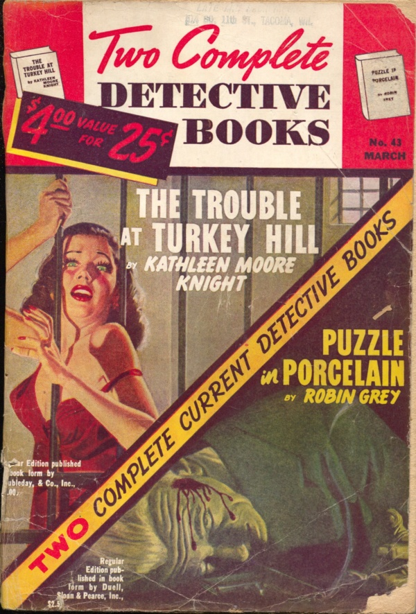 Two Complete Detective Books March 1947
