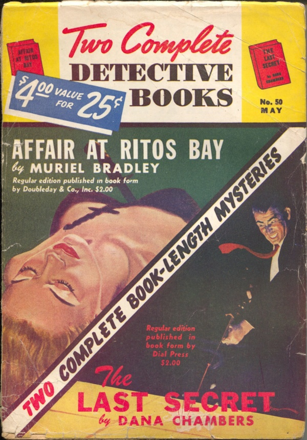 Two Complete Detective Books May 1948