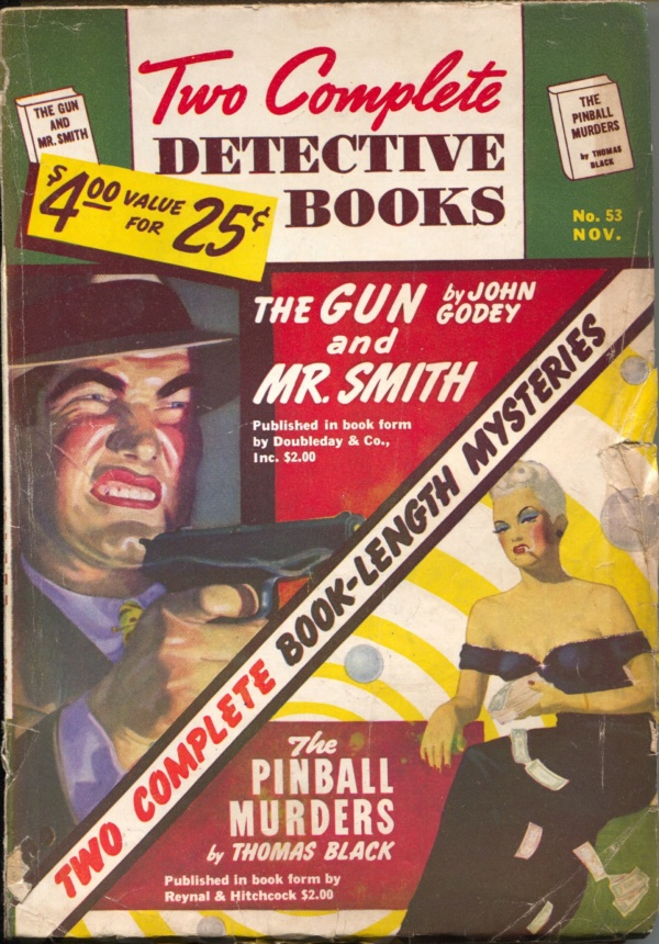 Two Complete Detective Books November 1948