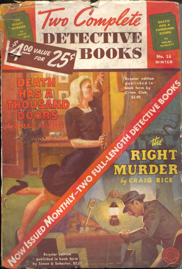 Two Complete Detective Books Winter 1942