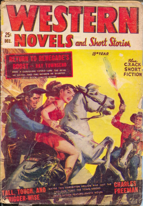 Western Novels And Short Stories December 1953