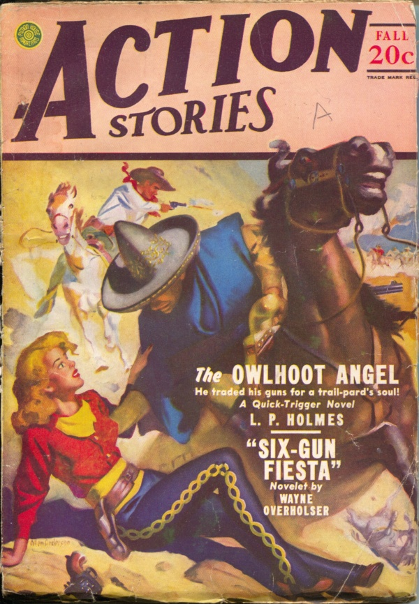 Action Stories Fall 1947