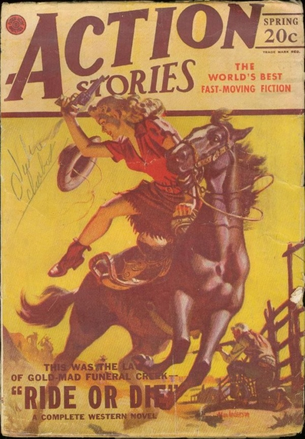 Action Stories Spring 1947