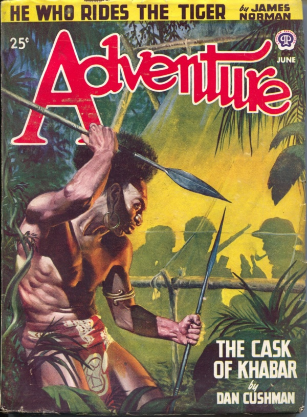 Adventure Magazine June 1947