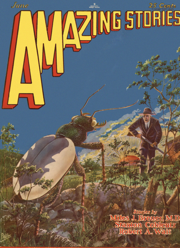 Amazing Stories, June 1929