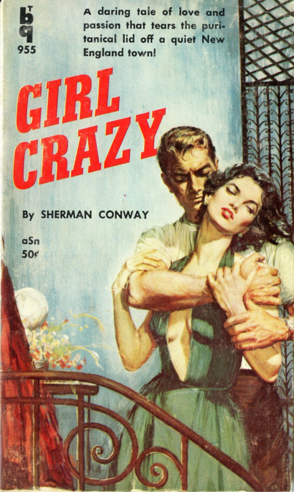 Bedside Books BTB 955 - Girl Crazy (1959)